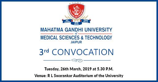 Mahatma Gandhi University of Medical Sciences Technology Jaipur